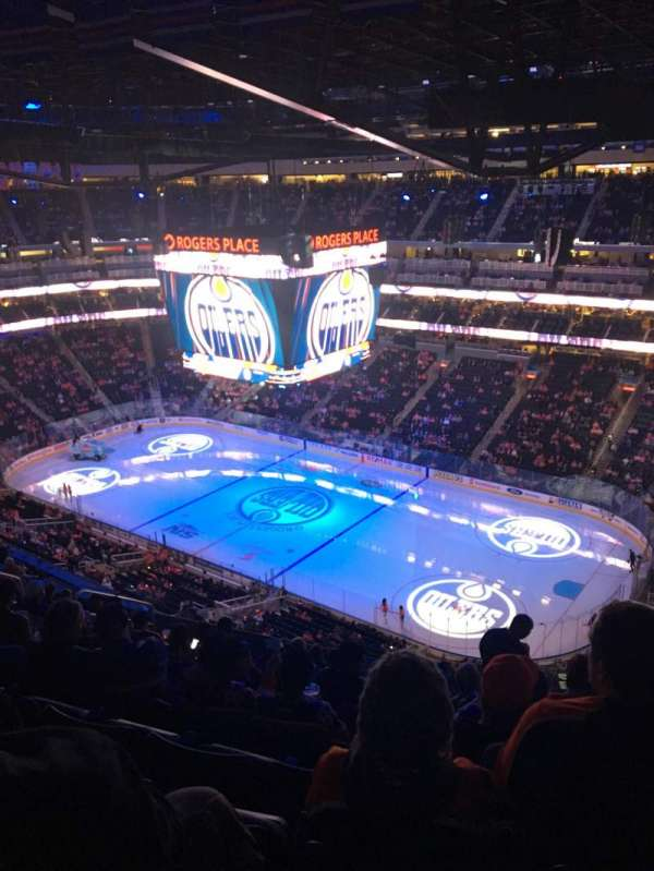 Rogers Place, section: 233, row: 12, seat: 10