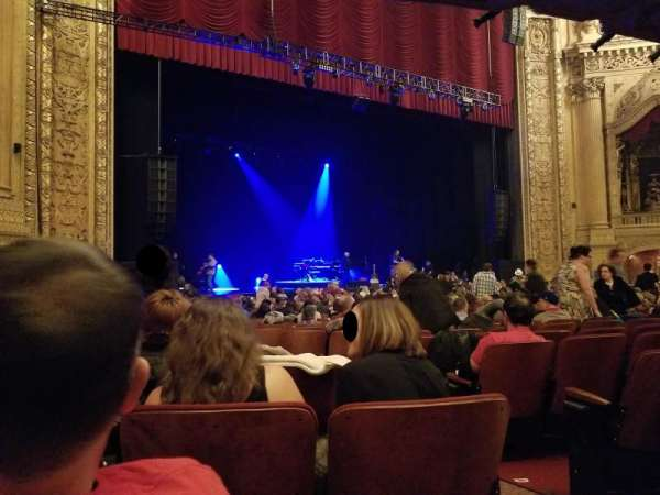 Chicago Theatre, section: MNFL2L, row: G, seat: 205
