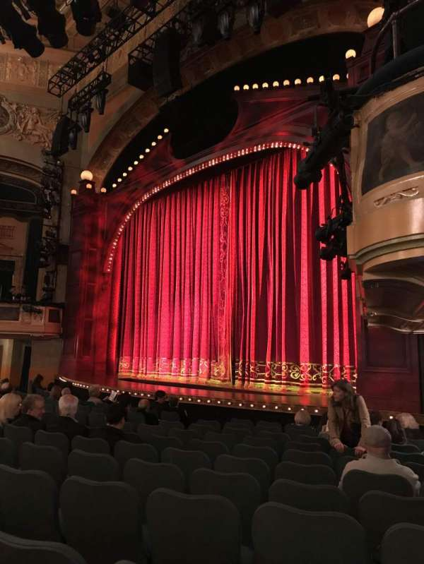 Shubert Theatre, section: Orchestra R, row: M, seat: 26