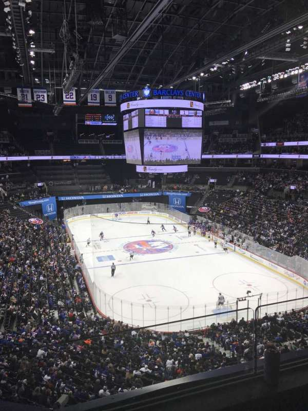 Barclays Center, section: 218, row: 2, seat: 7