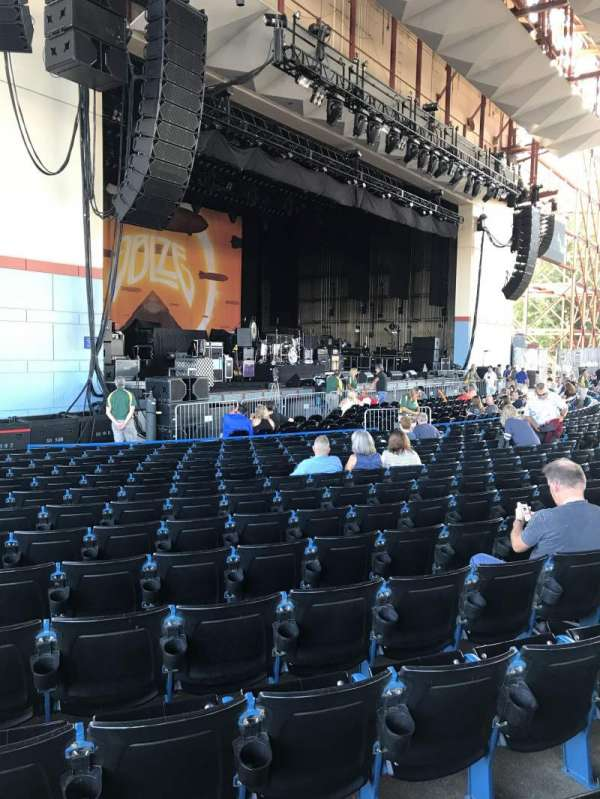 Riverbend Music Center, section: 100, row: M, seat: 120