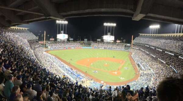 Dodger Stadium, section: 7RS, row: U, seat: 1