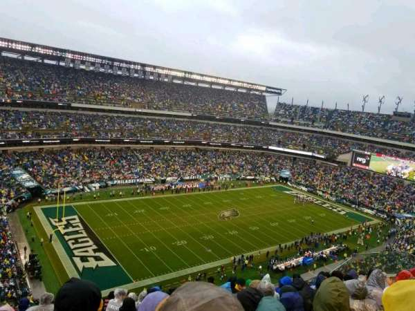 Lincoln Financial Field, section: 240, row: 15, seat: 19