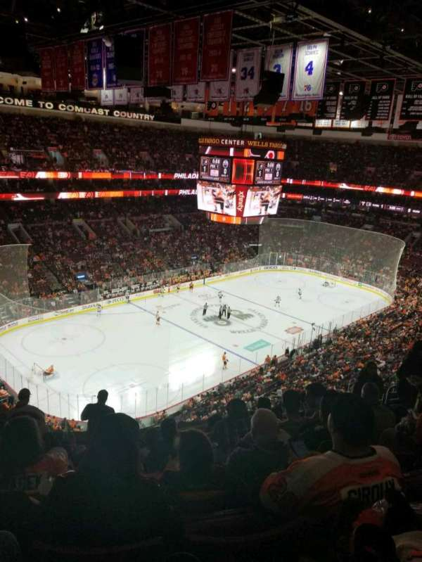 Wells Fargo Center, section: 210, row: 10, seat: 8