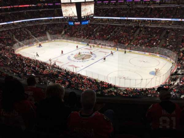 United Center, section: 331, row: 4, seat: 5