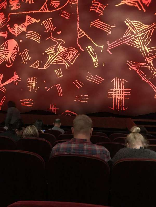 Minskoff Theatre, section: Orchestra C, row: F, seat: 117