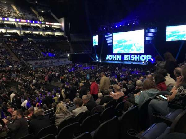 The O2 Arena, section: 111, row: P, seat: 331