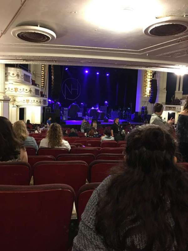 Orpheum Theatre (Boston), section: Orchestra L, row: P, seat: 11