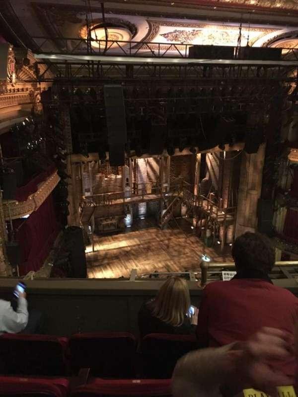 CIBC Theatre, section: Balcony l, row: D, seat: 5