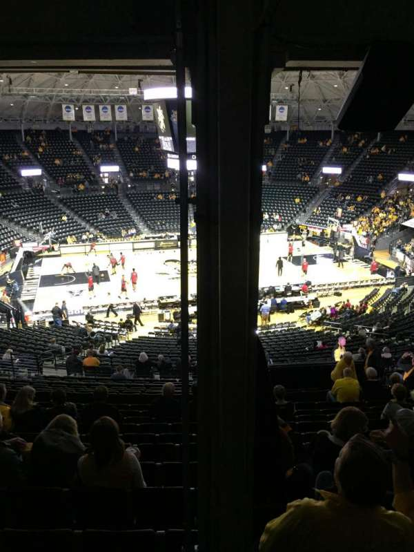 Charles Koch Arena, section: 122, row: 34, seat: 15