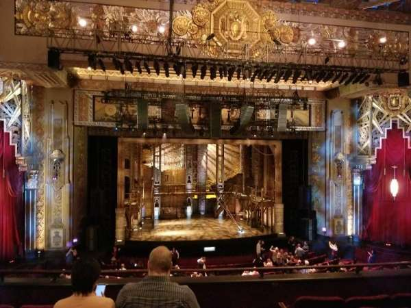 Hollywood Pantages Theatre, section: Mezzanine LC, row: E, seat: 301