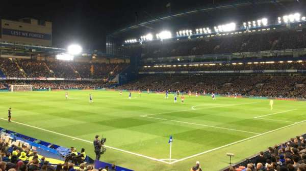 Stamford Bridge, section: Matthew Harding Lower, row: S, seat: 178