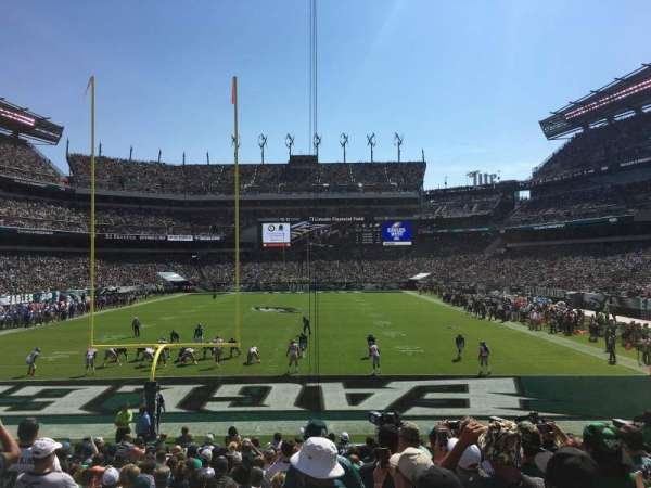 Lincoln Financial Field, section: 130, row: 16, seat: 21