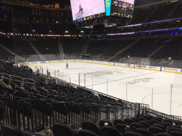 T-Mobile Arena, section: 8, row: M, seat: 3-6