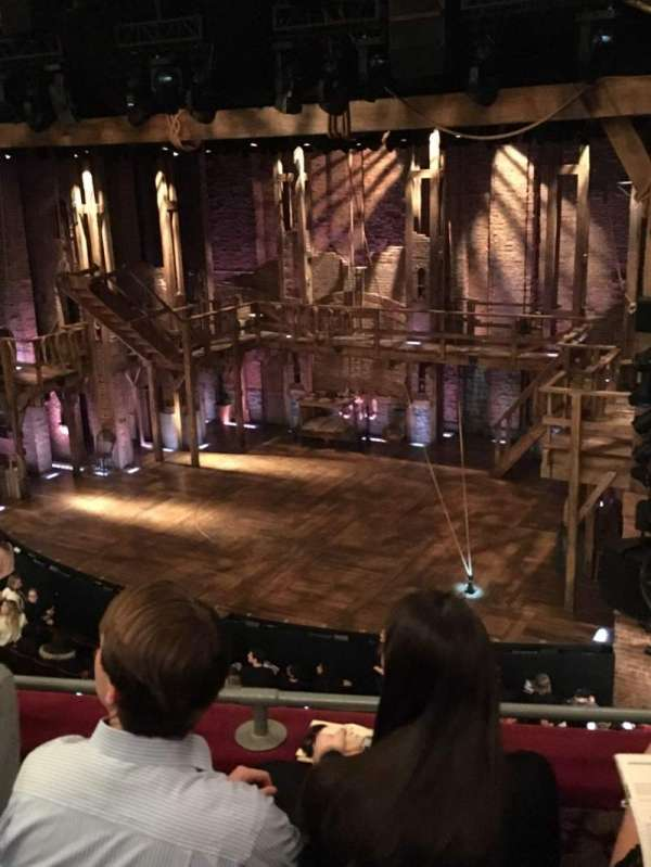 Richard Rodgers Theatre, section: Front Mezzanine R, row: C, seat: 18