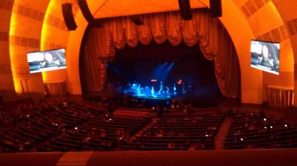 Radio City Music Hall, section: 2nd Mezzanine 2, row: A, seat: 203