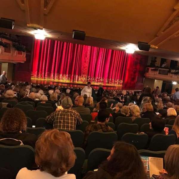 Shubert Theatre, section: Standing Room, row: SR, seat: 19