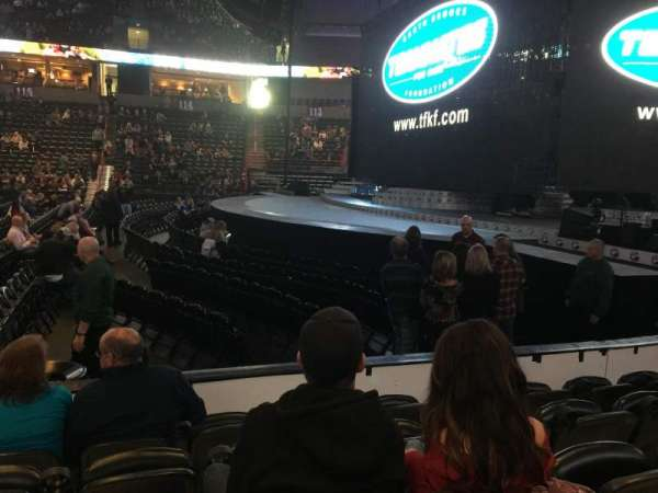 Spokane Arena, section: 106, row: E, seat: 13