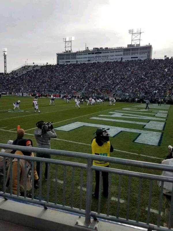 Beaver Stadium, section: EJ, row: C, seat: 27
