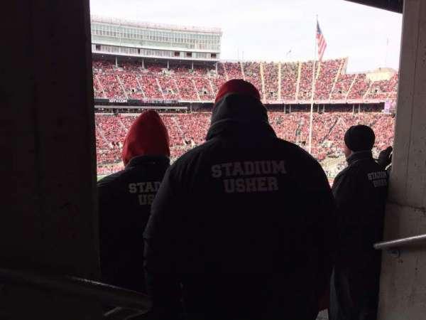 Ohio Stadium, section: 22B, row: 2, seat: 31