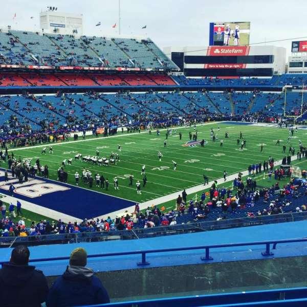 Highmark Stadium, section: 240, row: 9, seat: 15