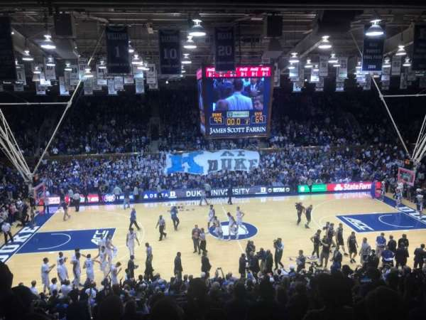 Cameron Indoor Stadium, section: 6, row: L, seat: 15