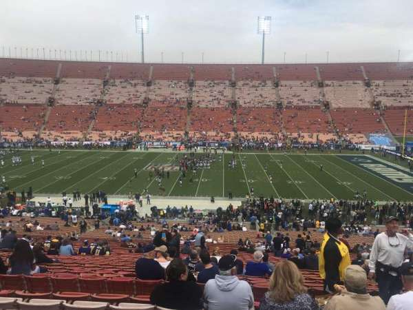 Los Angeles Memorial Coliseum, section: 6L, row: 50, seat: 6