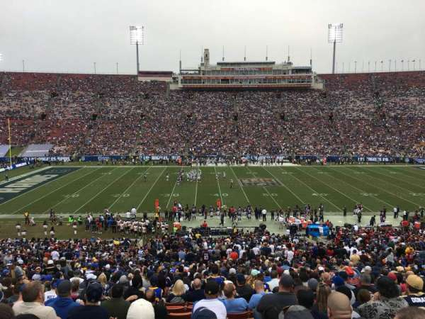 Los Angeles Memorial Coliseum, section: 222B, row: 3, seat: 8