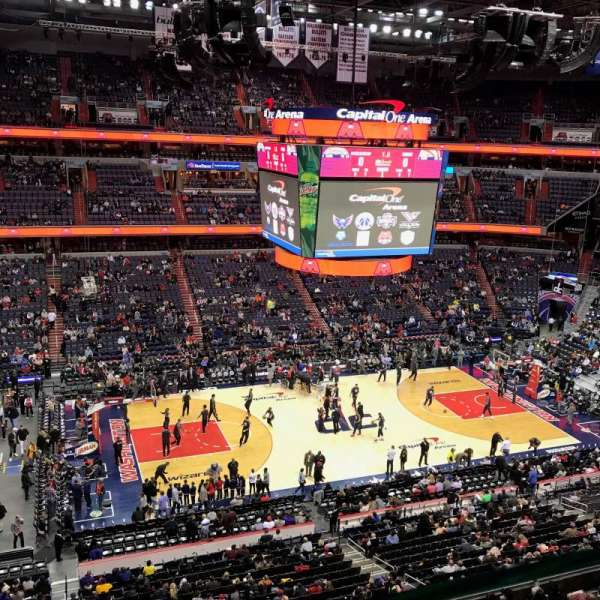 Capital One Arena, section: 415, row: A, seat: 12