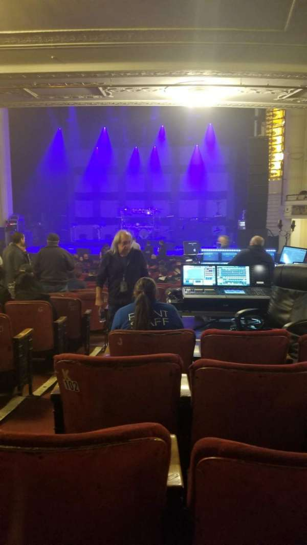 Orpheum Theatre (Boston), section: Orchestra RC, row: N, seat: 102