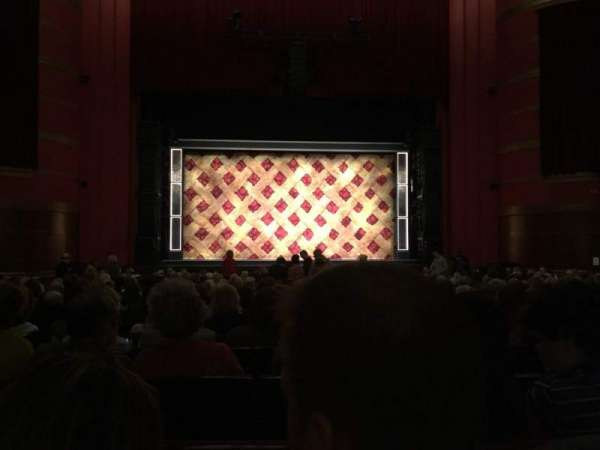 Kansas City Music Hall, section: CORC, row: W, seat: 16
