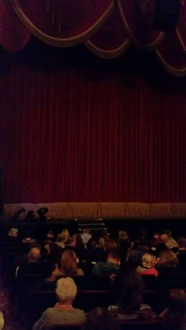 Providence Performing Arts Center, section: Orchestra Left, row: N, seat: 1