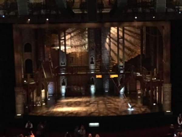 Hollywood Pantages Theatre, section: Mezzanine C, row: D, seat: 107