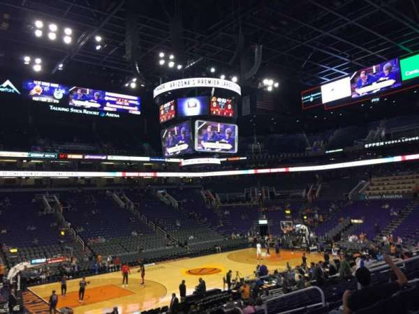 PHX Arena, section: 104, row: 20, seat: 13