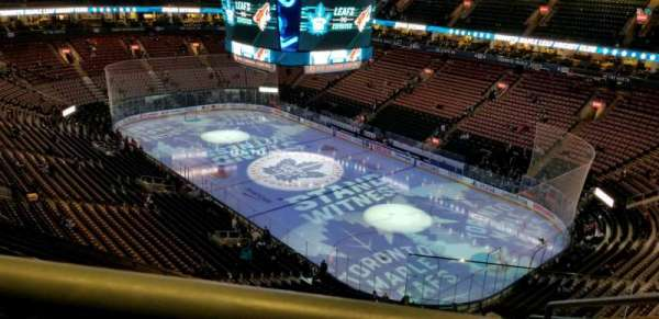 Scotiabank Arena, section: 306, row: 12, seat: 1