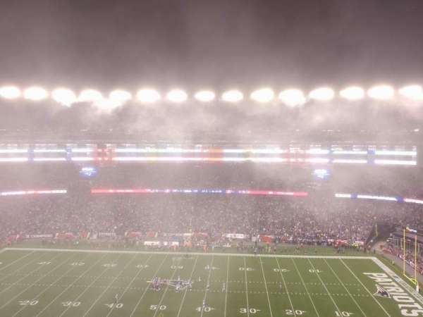 Gillette Stadium, section: 330, row: 3, seat: 2