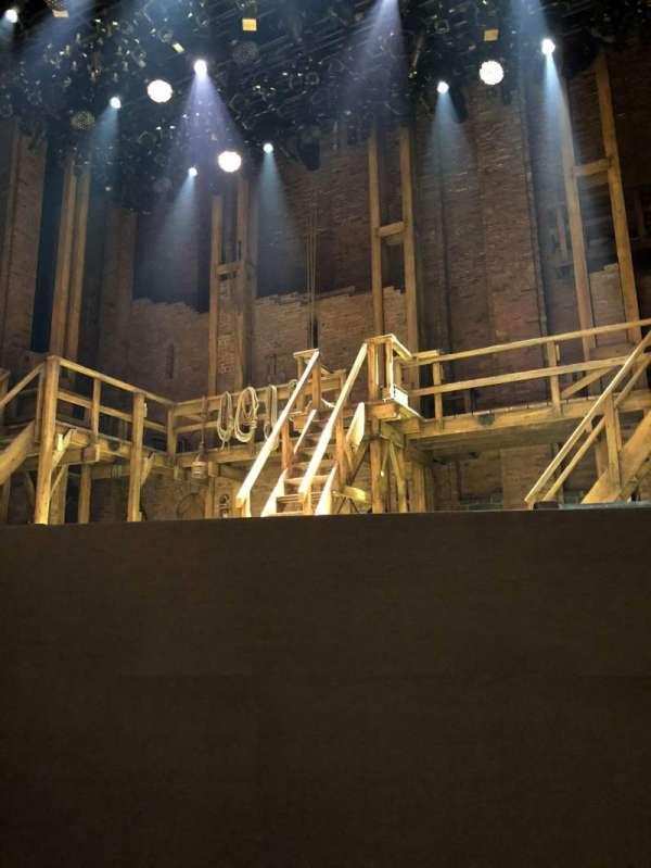 CIBC Theatre, section: Orchestra R, row: B, seat: 2