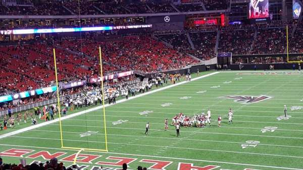 Mercedes-Benz Stadium, section: 117, row: 43, seat: 11