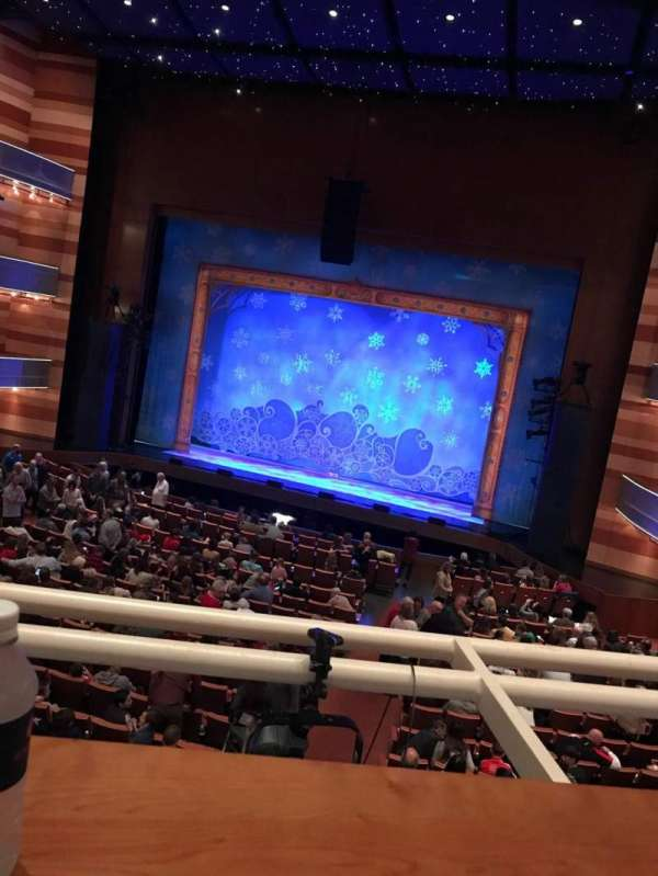 Eccles Theater, section: ITR, row: A, seat: 3