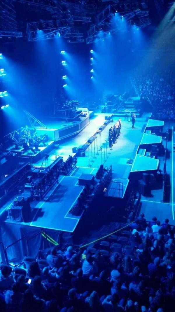 Mohegan Sun Arena, section: 119, row: A, seat: 5
