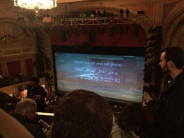 Ethel Barrymore Theatre, section: Rear Mezzanine R, row: D, seat: 12