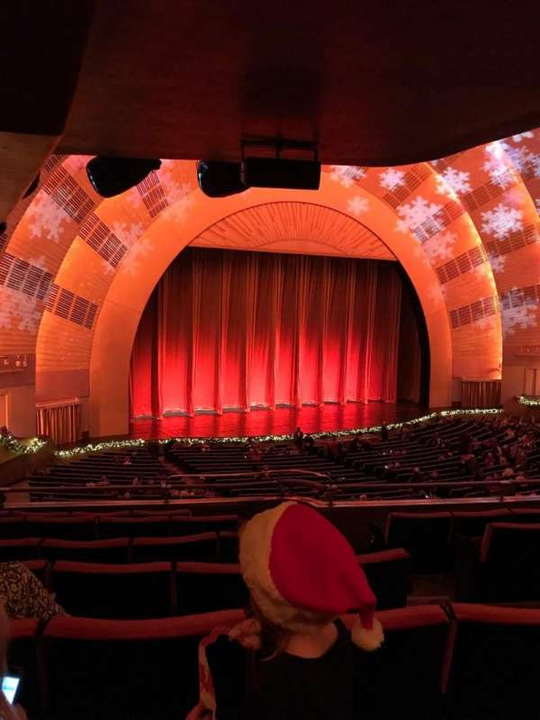 Radio City Music Hall, section: 1st Mezzanine 7, row: F, seat: 704