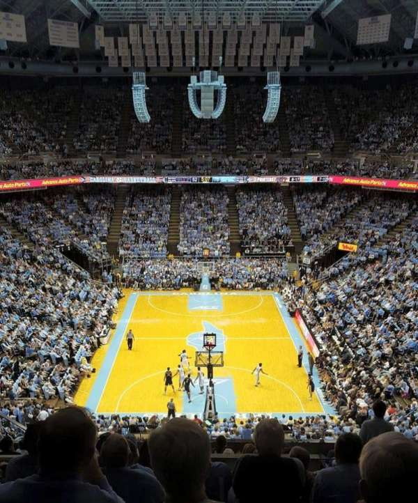 Dean Dome, section: 200