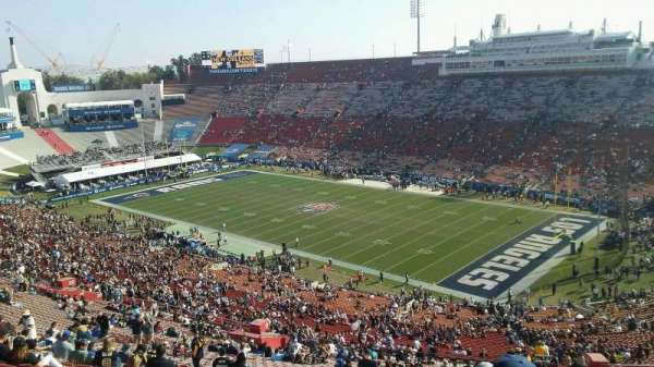 Los Angeles Memorial Coliseum, section: 318, row: 19, seat: 20
