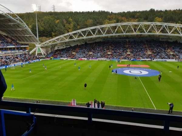 John Smith's Stadium, section: Revell Ward Upper, row: CC, seat: 109