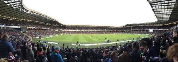 Murrayfield Stadium, section: West 25, row: Y, seat: 15