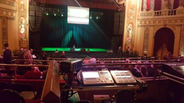 The Fillmore Detroit, section: MF TBL, row: 8, seat: 3