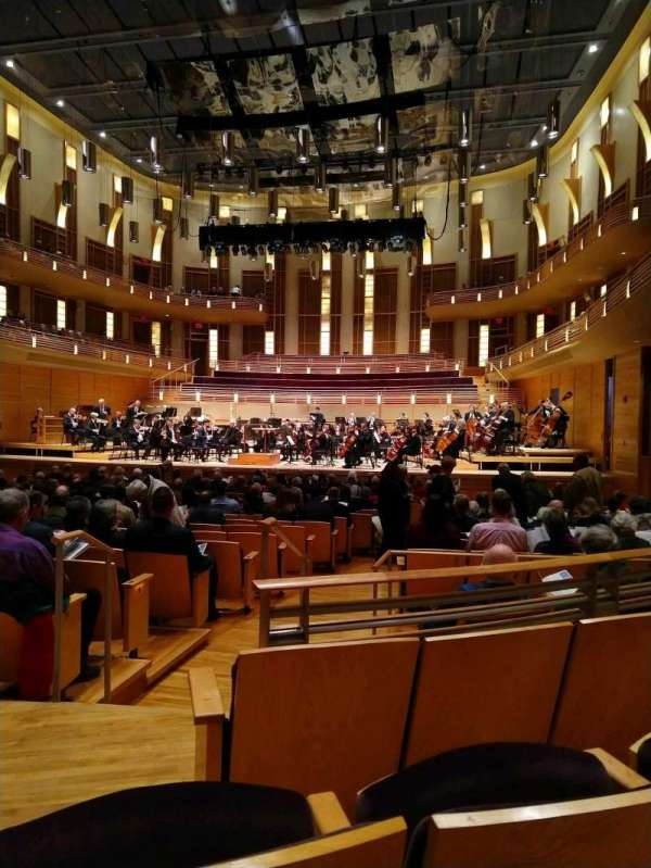 The Music Center at Strathmore, section: Orchestra Tier Right, row: CC, seat: 4