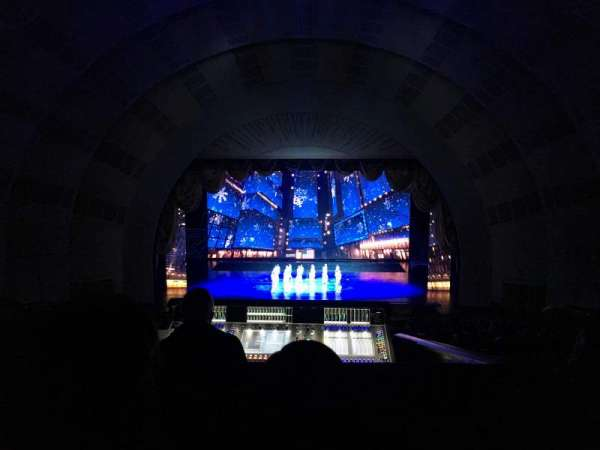 Radio City Music Hall, section: 2nd mezzanine 4, row: D, seat: 405