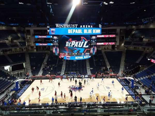 Wintrust Arena, section: 225, row: K, seat: 8